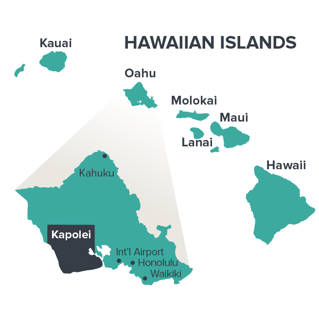 Kapolei location