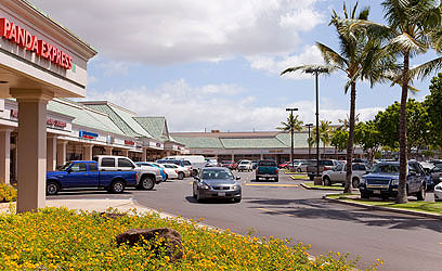 An exterior photograph of Kapolei Shopping Center