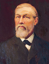 A portrait of James Campbell