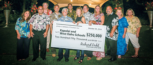West Oahu Donation