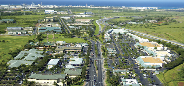 An aerial photograpg of The City of Kapolei